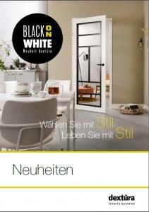Black on white naslovnica