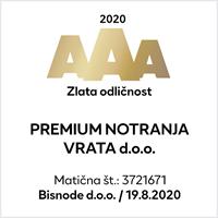 zlata odličnost 2020